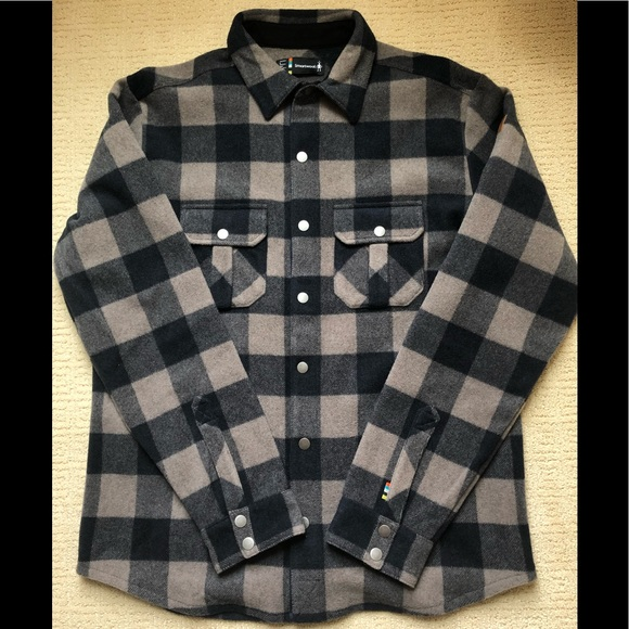 69eabe732a32 Smartwool Jackets & Coats | Anchor Line Shirt Jacket | Poshmark